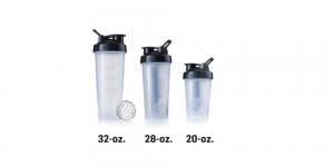 shaker bottle size