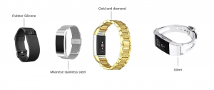 types of fitbit charge 2 replacement bands