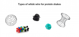types of mixing balls for protein shakes