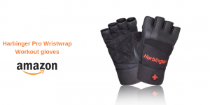 Harbinger Pro Wristwrap weightlifting glove