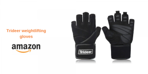 Trideer Weightlifting gloves