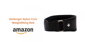 Harbinger Nylon Core Weightlifting Belt