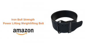 Iron Bull Strength Power Lifting Weightlifting Belt