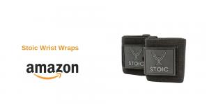 4. Stoic Wrist Wraps