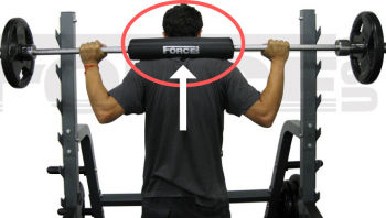 barbell pad support