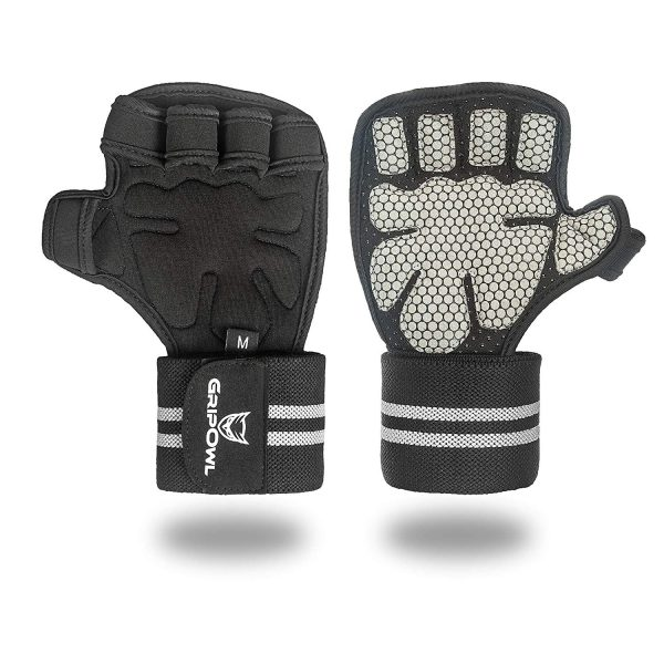 Workout Glove with Wrist Wrap for Weight Training